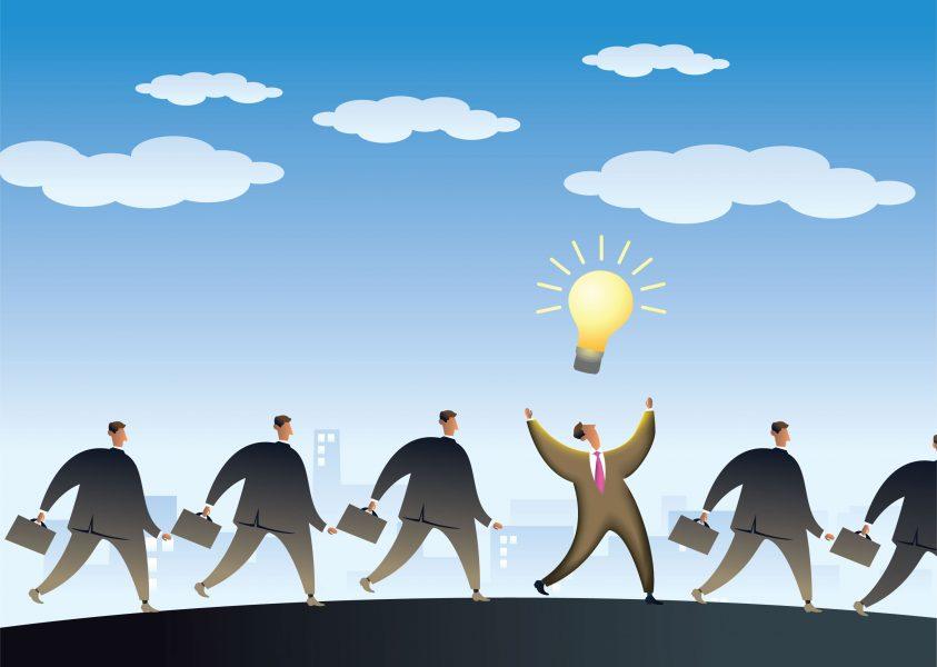 men-walking-light-bulb