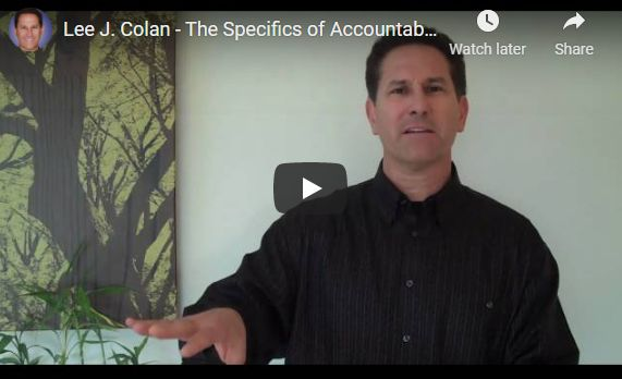 The Specifics of Accountablity