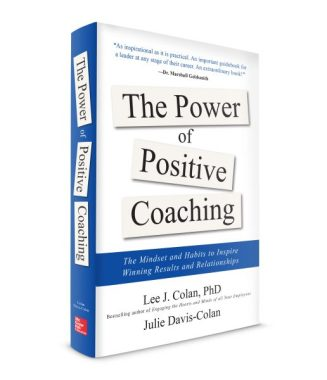 Positive Coaching book cover 3D