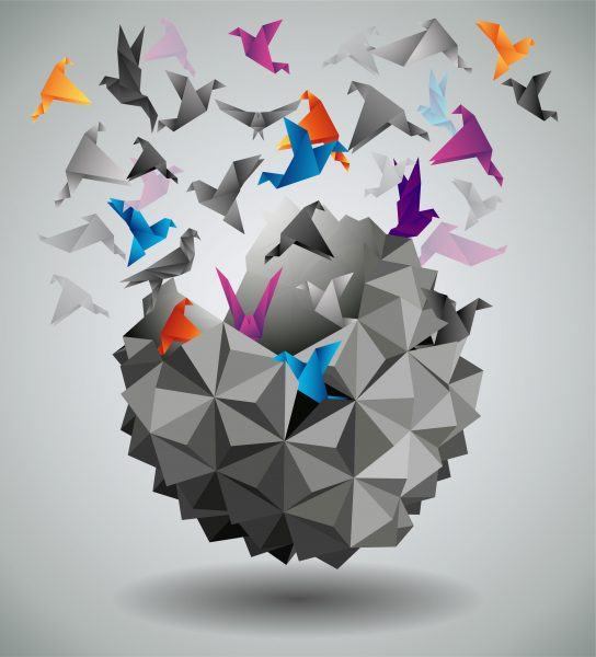birds-origami
