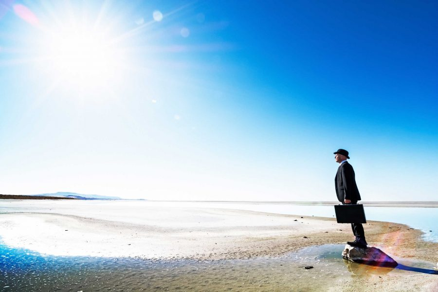 businessman-beach