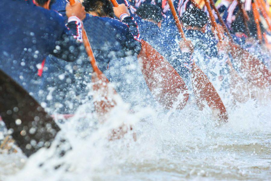 rowing-splash